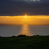 Sunset at  Rame Head