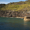 ENTRANCE TO BOSCASTLE HARBOUR