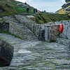 Boscastle harbour  built in 1584 by Sir Richard Grenville  and still in use today