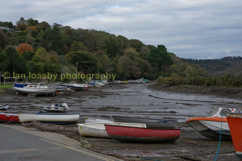 Golant on the River Fowey