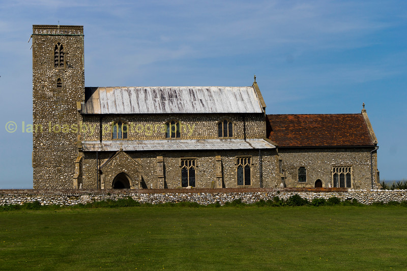 All saints church between Cromer & Sherringham Norfolk
