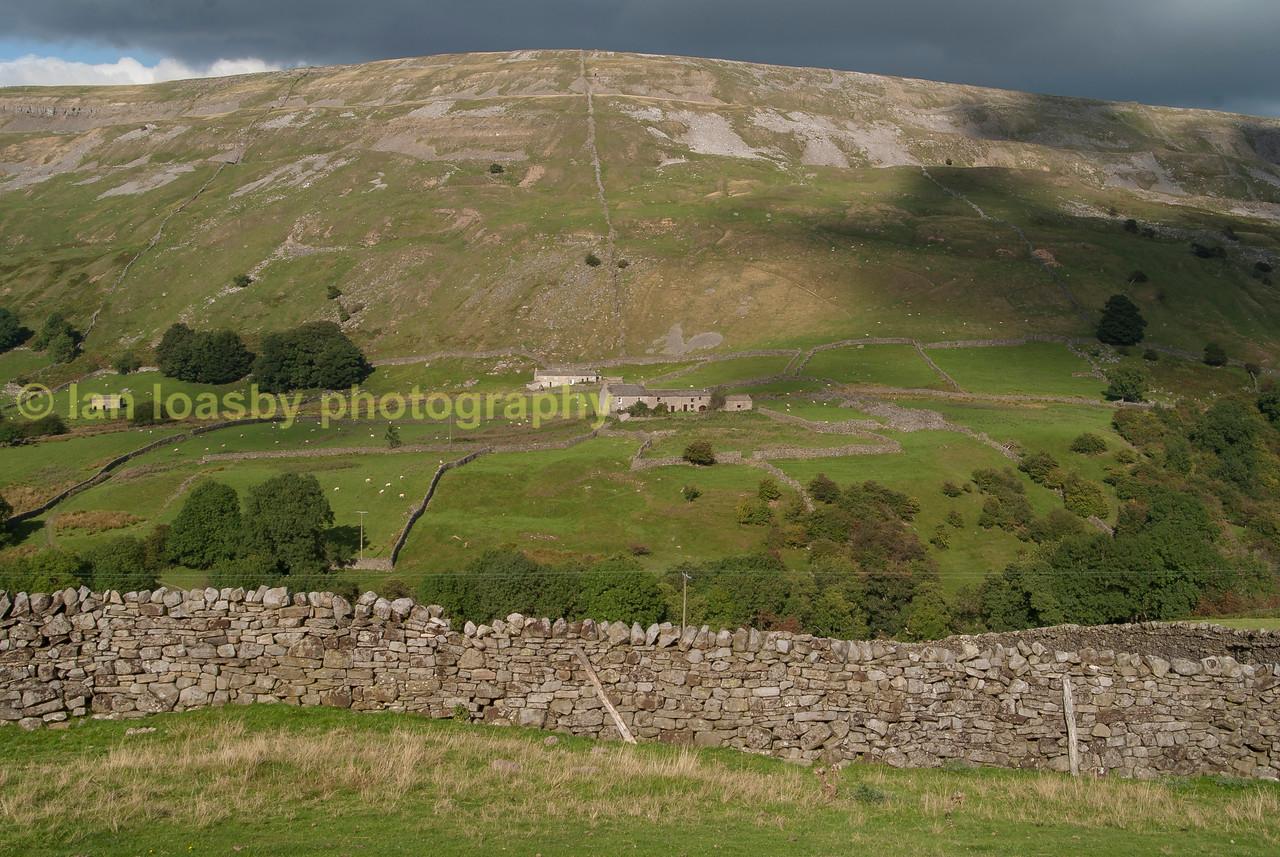 Yorkshire Dales hill farm