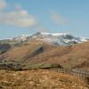 Cumbrain Winter landscape