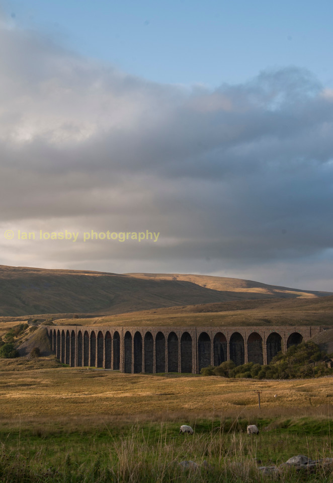 Ribblehead railway  viaduct in North Yorkshire