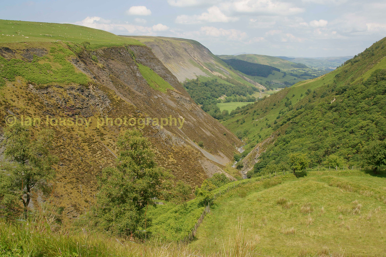Mid Wales valley