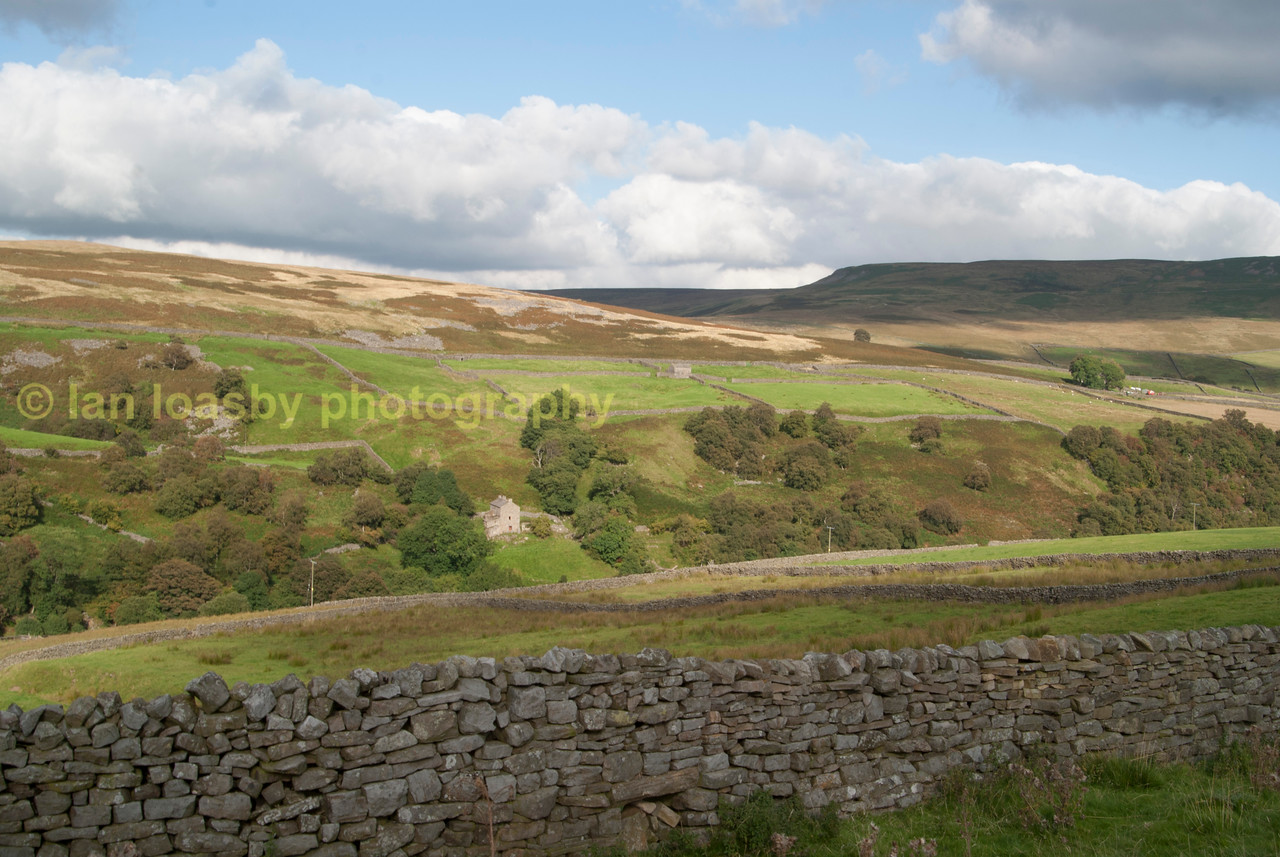 A dry stone wall the north yorkshire dales national park