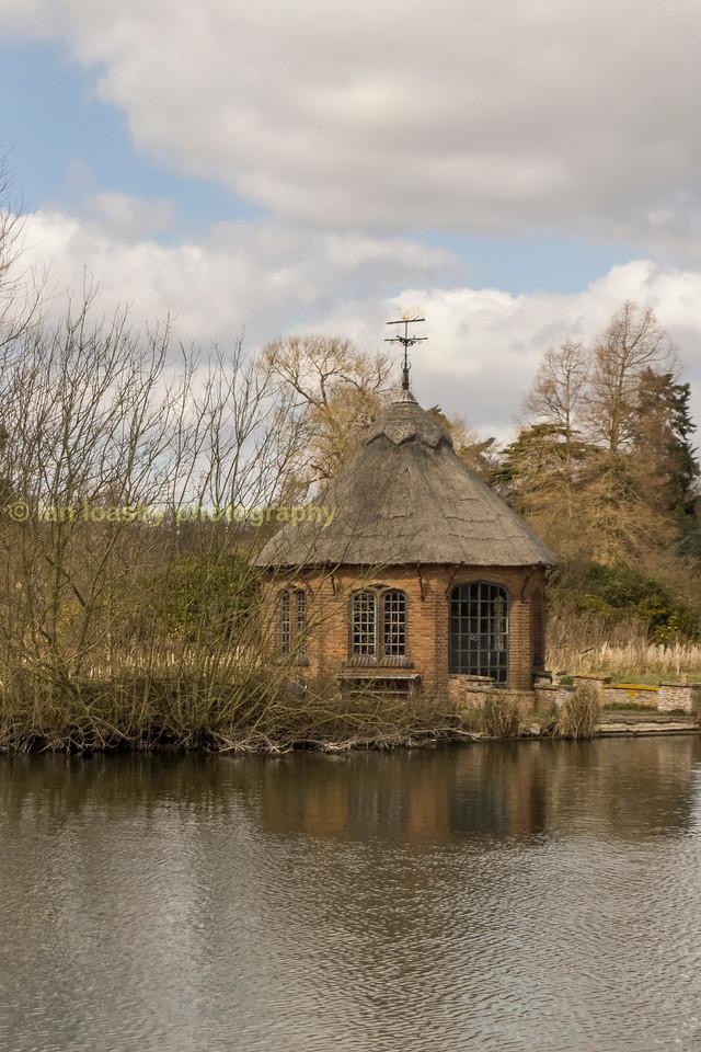 Norfolk broads riverside folly