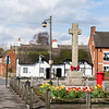 An English village in spring time,<br />   Kings Bromley Staffordshire