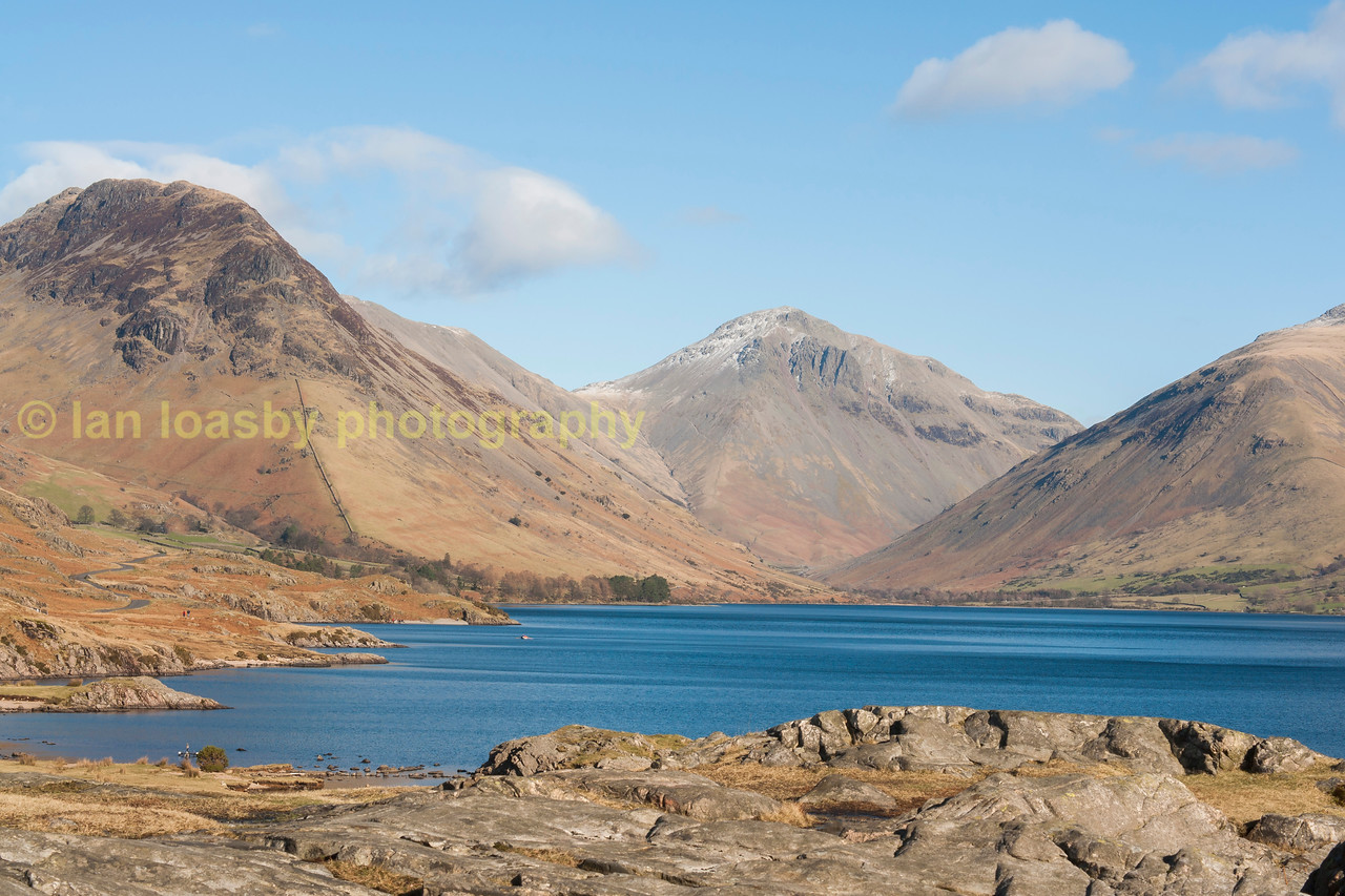 Wast Water in  Wasdale