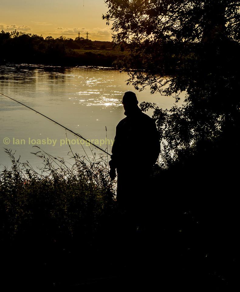 River Trent fisherman