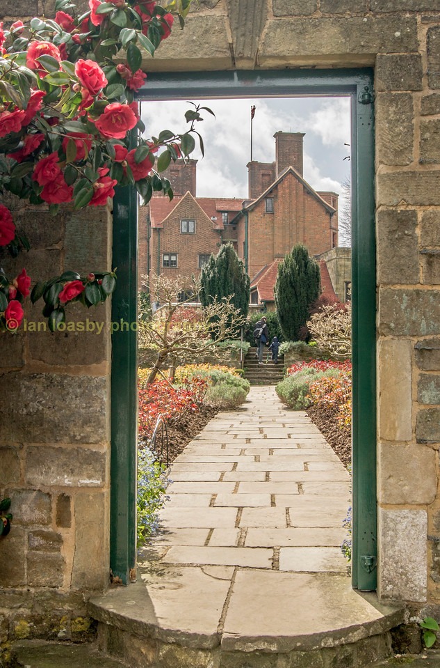 Sir Winston Churchill's rose garden at Chartwell house