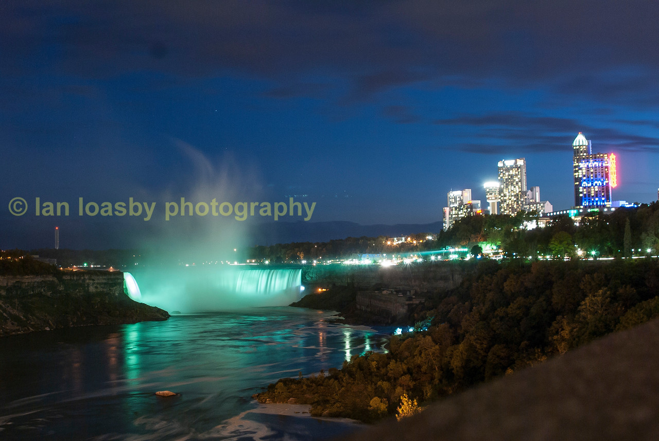 Both falls at night