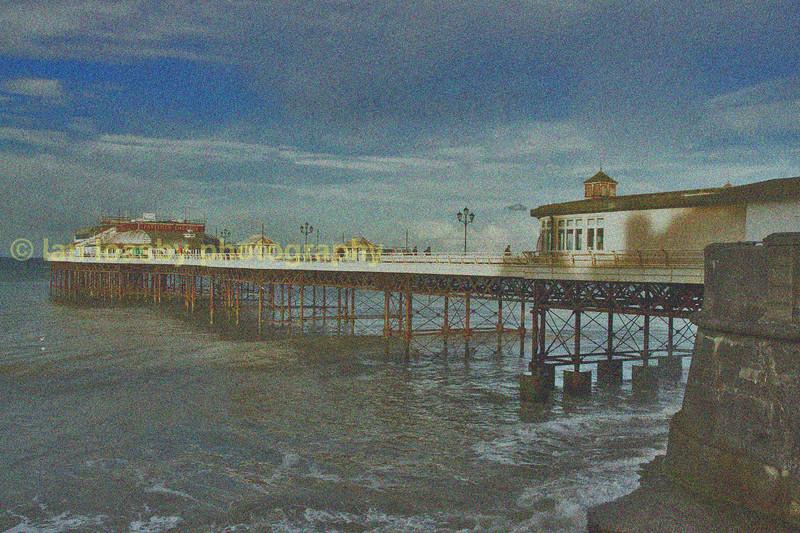 Cromer pier, concept image