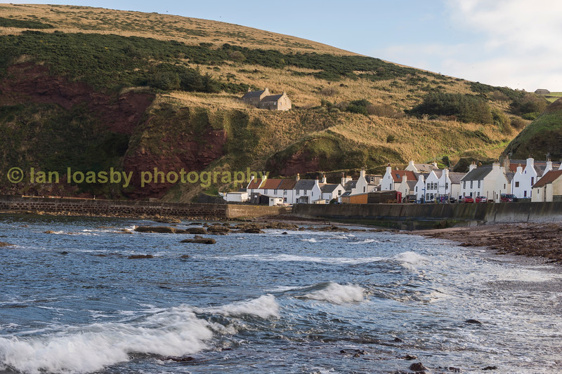 Pennan north Aberdeenshire, the village was used a set for the film 'Local hero '