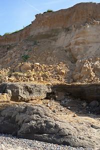 Cliff erosion at Happisburgh