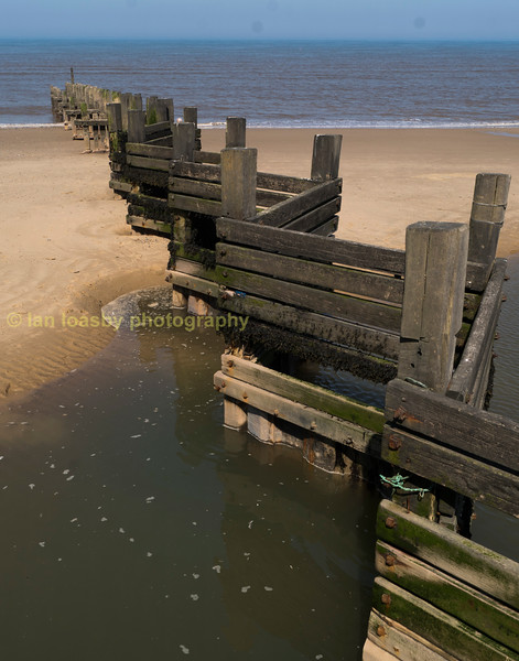 Sea defences walcott norfolk