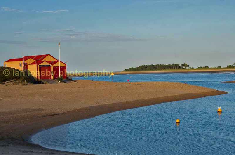 Wells next to the seas lifeboat station
