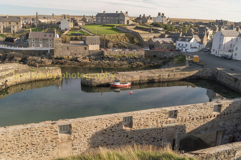 Portsoy harbour Aberdeenshire