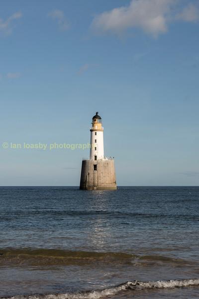 Rattray Head lighthouse Aberdeenshire
