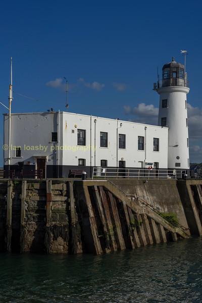 Scarborough harbour light house