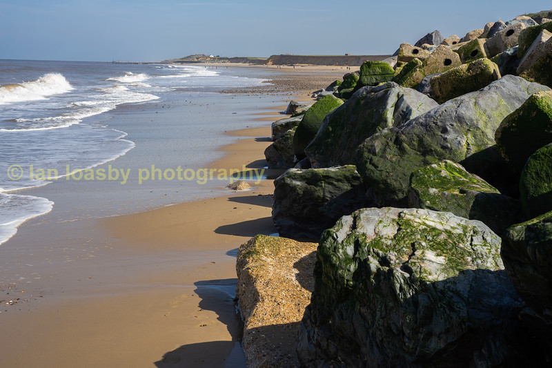 Happisburgh beach