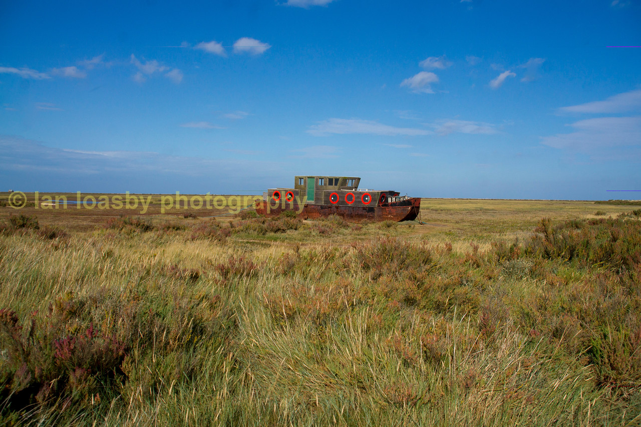Morston marshes Morston north Norfolk
