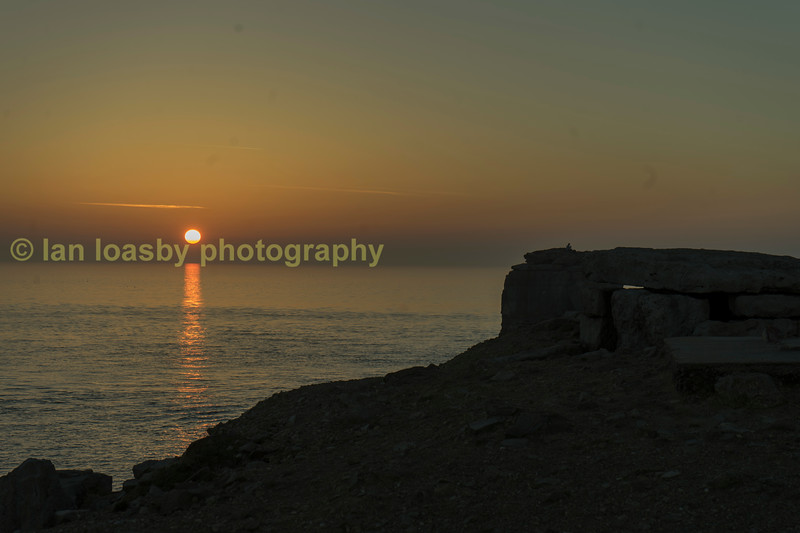 Late spring evening on portland Bill Dorset