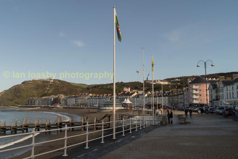 Aberystwyth prommenade