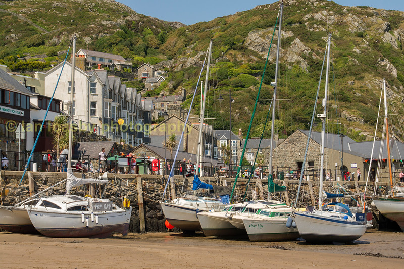 Barmouth harbour front