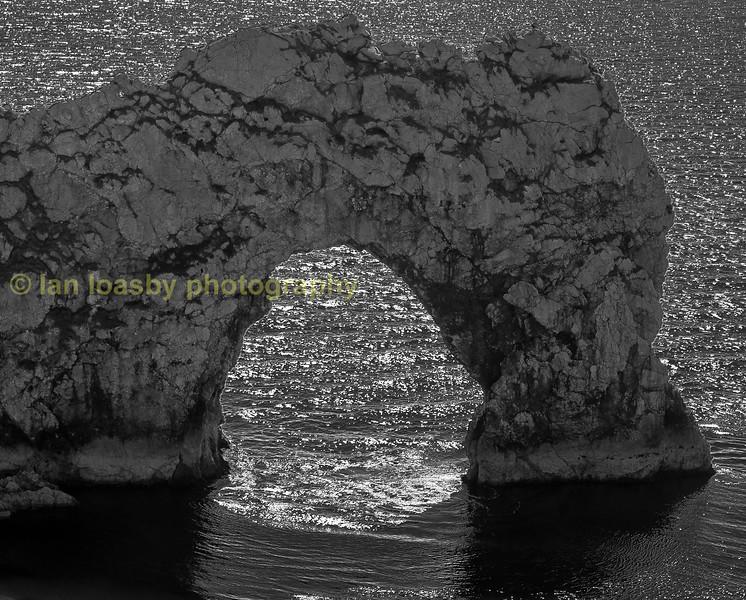 Durdle Door arch on the Dorset jurassic coast