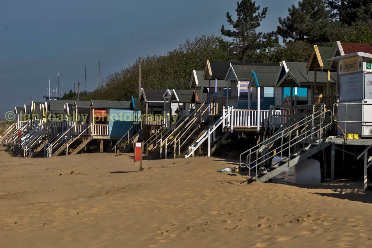 Holkem beach huts