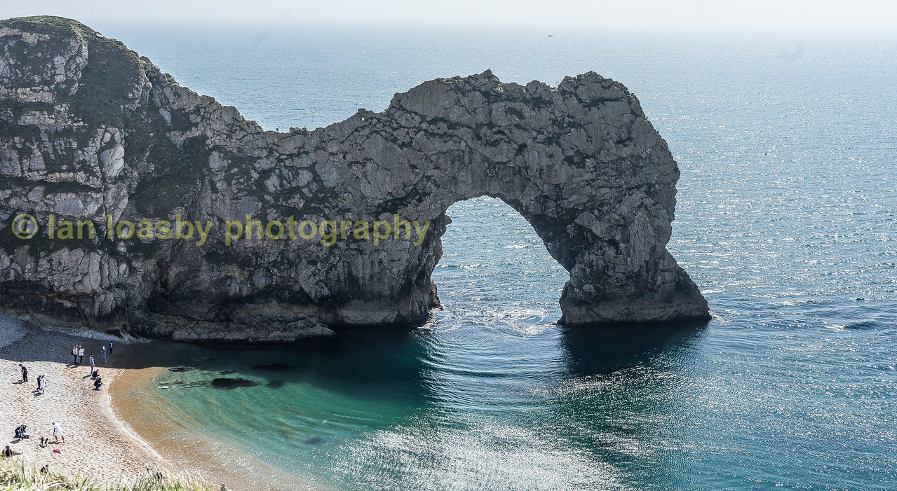 Durdle Door arch on the Jurassic coast in Dorset.