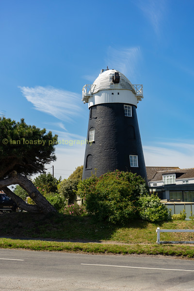 The coastal village of Mundesley in Norfolk has a fabulously preserved windmill, unfortunately the sails where missing when I last past by in may 2019