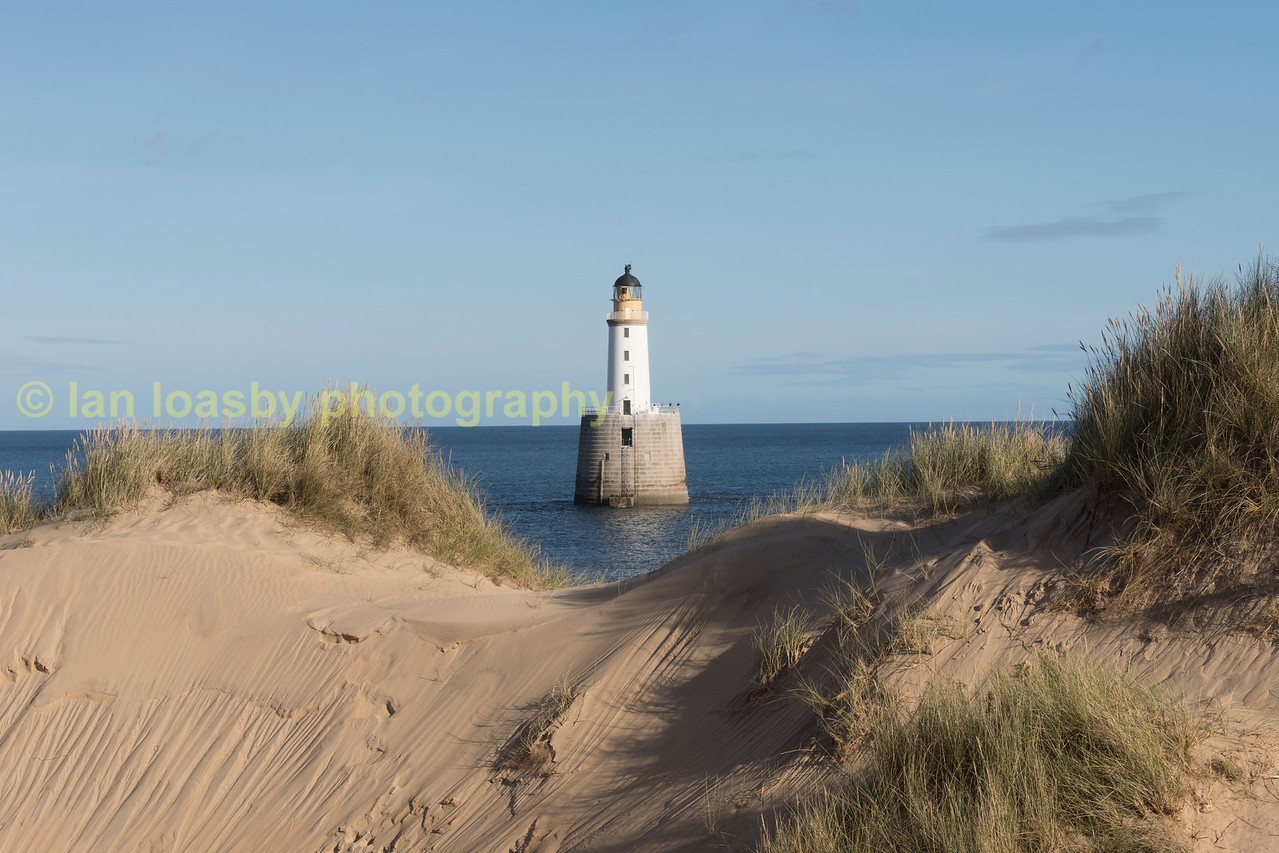 Rattray Head lighthouse Aberdeenshire