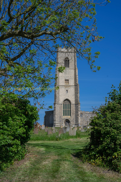 The Norfolk coastal village of Happisburgh is home to a very impressive and photogenic parish church
