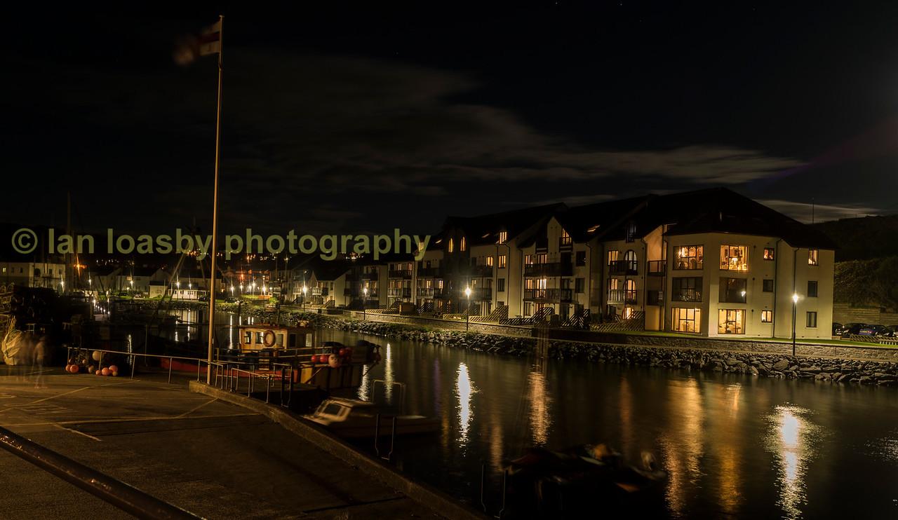 Harbour Lights,  Aberystwyth marina