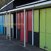 Beach huts at Bridlington