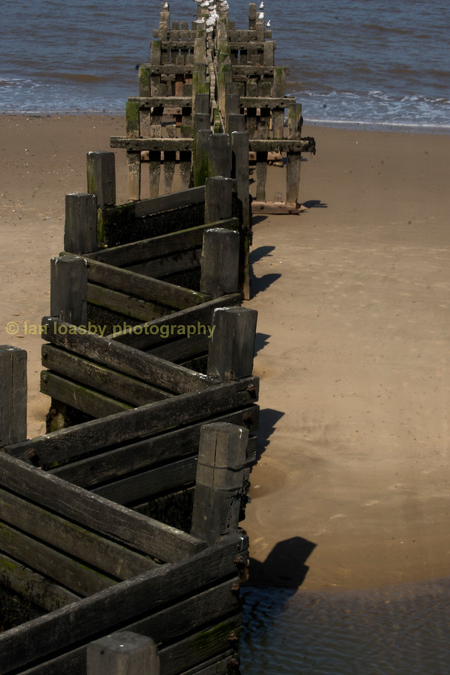 Sea Defences at Walcott