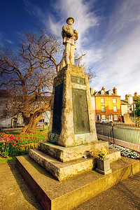 Monmouth War Memorial St James Square 3