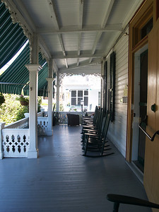 Chalfonte, veranda. Cape May, NJ