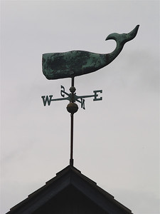Whale weather vane, Cape May Point, NJ