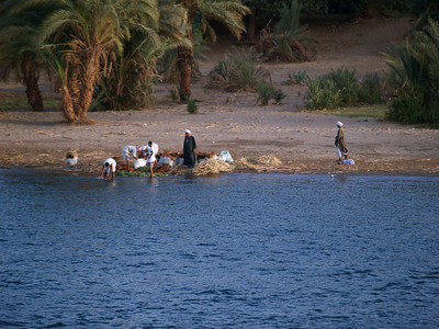 Egypt. Scenes from the Nile.