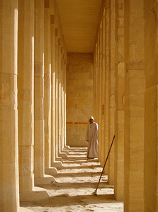 I'm so glad I made the journey to Egypt. I loved it there and hope to return someday. Let's hope it's a better place for it's people when all this turmoil is over and still a safe place to visit. Egypt, Luxor. Hatshepsut's sacred mortuary temple.