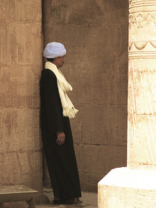 Egypt, Edfu Temple.