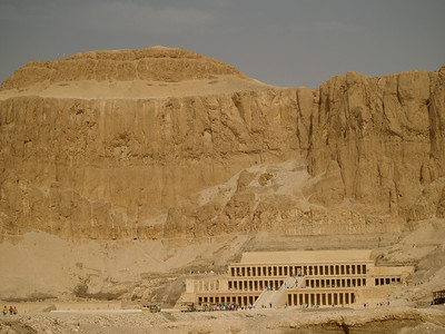Egypt, Luxor. Hatshepsut's Mortuary Temple.