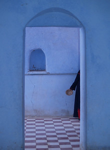"Egypt. Inside a Nubian home. This photograph was exhibited at the ""Washington County Museum of Fine Art"". Cumberland Valley Photographic Salon. Titled ""Nubian Blue""."