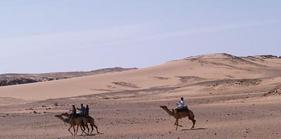 Egypt, Nubian desert.