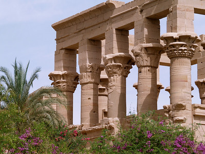 Egypt. Philae Temple. Sacred Temple to the Goddess Isis.