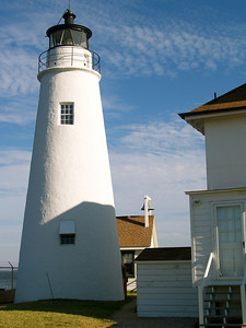 March 25, 2011. Cove Point Lighthouse, Lusby, MD. Chesapeake Bay.
