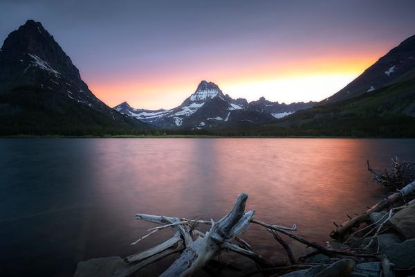 Wondrous || Swiftcurrent Lake